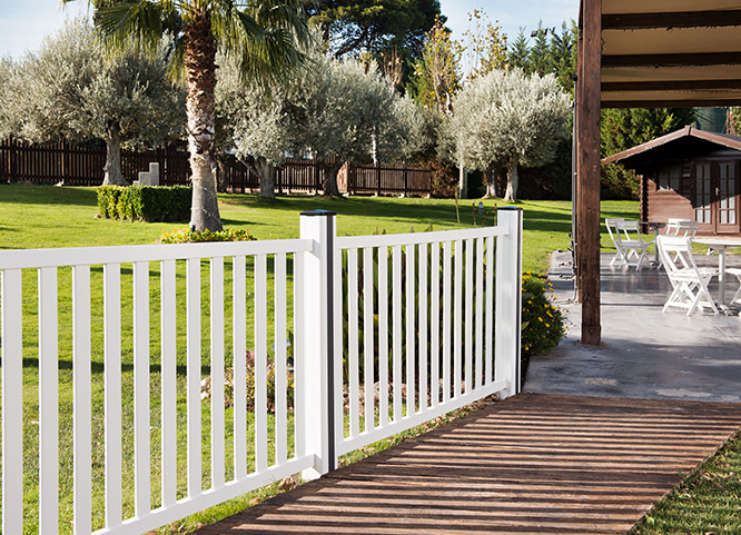 Pvc fencing and garden products extruplesa s a - Vallas para jardines ...