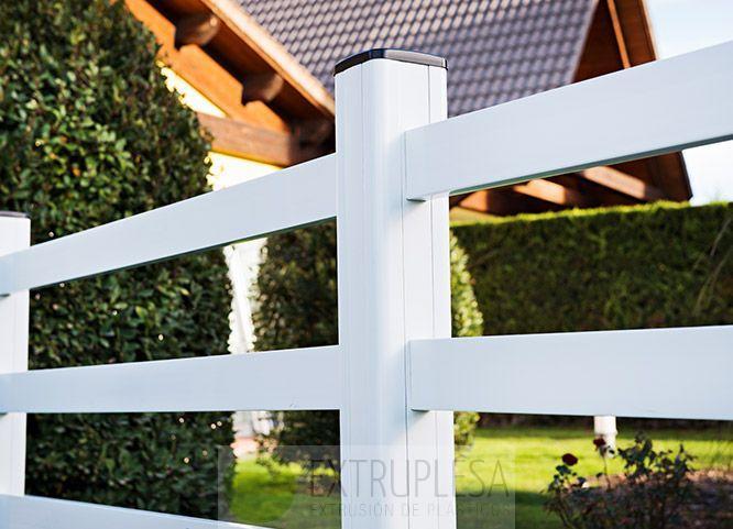 Vallas de pvc y productos de jard n extruplesa s a - Vallas decorativas para jardin ...