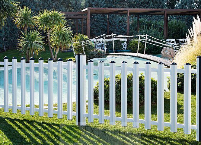 Vallas pvc jardin good finest celosas cercados y vallas for Vallas jardin ikea